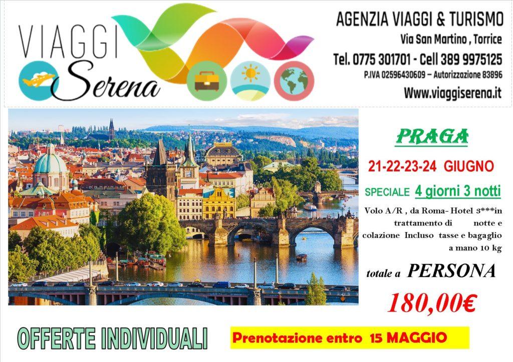 Offerte individuali: PRAGA special Price € 180!!! - Viaggi Serena