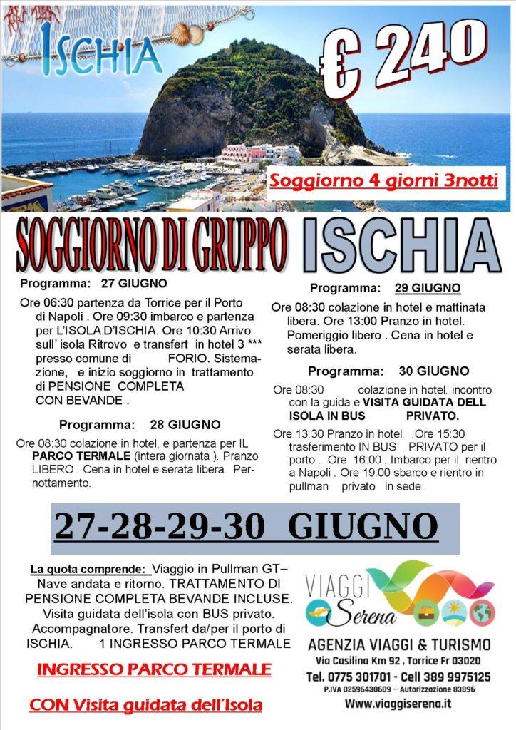 Viaggi di gruppo soggiorno a ischia 27 28 29 30 for Soggiorno a ischia
